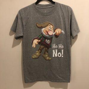 Disney Snow White grumpy dwarf Christmas shirt